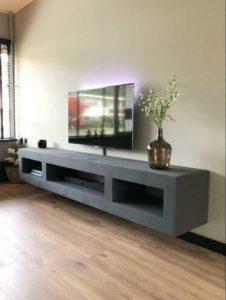 Betonlook tv meubel Don